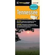 Universal Map 28027 Tennessee Waterproof Map