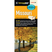 Universal Map 13058 Missouri State Waterproof Map