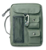 Zondervan Gifts 570660 Bi Cover Compass Canvas Medium Green