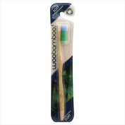 Woobamboo Standard Handle Soft Single Toothbrush Case Of 12