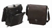 Preferred Nation 6113.Blk Columbia Vertical Laptop Messenger - Black