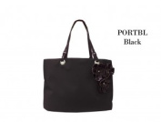 Joann Marrie Designs PORTBL Portofino Bag - Black Pack of 2