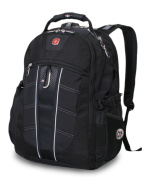 SwissGear 17532215 Polyester Scansmart Backpack - Black 43cm .