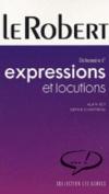 Dictionnaire des Expressions et Locutions [FRE]