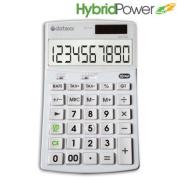 Teledex Inc. DD-760 Hybrid Power 10 Digit Desktop Calculator