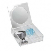 Hds Trading MH41062 Cosmetic Box With Mirror