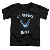 Air Force-Property Of - Short Sleeve Toddler Tee Black - Medium 3T