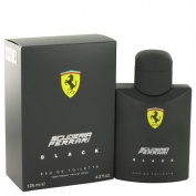 Ferrari Scuderia Black by Ferrari Eau De Toilette Spray 120ml