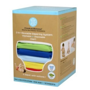 Winc Design Limited 889180 6 Nappies 12 Inserts Set Boy Small