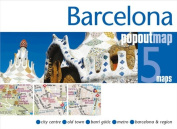 Universal Map 18911 Barcelona Popout Map