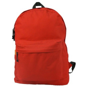 Harvest LM183 Red 46cm . Classic Backpack 18 x 33cm x 15cm .