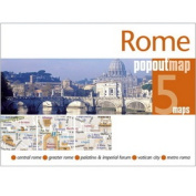 Universal Map 18906 Rome Popout Map