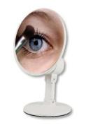 Floxite FL-610 10x Magnifying Home & Travel Mirror white