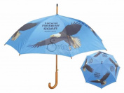 Swanson Christian Supply 82760 Umbrella-Hope Renew Soar And Eagle-Isaiah 40 31 - Blue