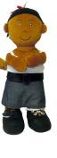 Miniland Educational 96304 Etni African-American Fastening Doll-Girl