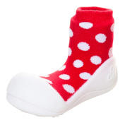 Attipas AD06-XL Polka Dot Shoes US 6.5 Red - Extra Large