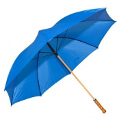 Elite Rain Frankford 2988WS-BL Wooden Shaft Golf Umbrella Royal Blue