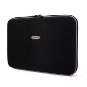 Mobile Edge TechStyle Portfolio 2.0 - Clam Shell - EVA (Ethylene Vinyl Acetate) Nylon - Black Charcoal - Notebook Case