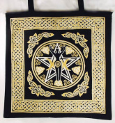 AzureGreen RB74ETP Pentagram Goddess Tote Bag