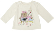 Klever Kids FW12-I19-3-6 Baby Girl -Knit Long Sleeve Crew Neck Graphic T-Shirt 3-6 Months