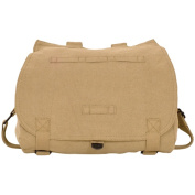 Fox Outdoor 43-095 Retro Hungarian Shoulder Bag With Plain Flap - Khaki
