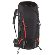 Asymmetric Backpack 52 Plus 8 Litre Black
