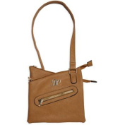 Bulldog Cases & Vaults BDP-032 Cross Body Style Purse - Tan