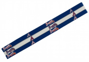 Caseys 8669910311 Atlanta Braves Elastic Headbands