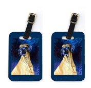 Carolines Treasures 7277BT Pair of 2 Great Dane Luggage Tags
