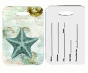 Carolines Treasures SB3043BT Starfish Luggage Tags Pair Of 2