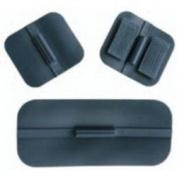 Uni-Patch 573 3.8cm . X 4.4cm . Sq. Pin Non - Gelled Carbon Rubber Electrodes 4 Per Pkg