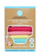 Winc Design Limited 889466 6 Nappies 12 Inserts Set Buttefly Large