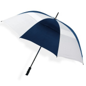 Peerless 2500V-Navy-White The Bogey Vented Sport Umbrella Navy And White