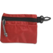 Deluxe Buy 172-67537 Small Zipper Pouch Red Pack Of 24