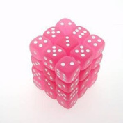 Chessex Manufacturing 27864 d6Cube12mmFR PKwh 36