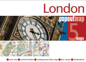 Universal Map 18901 London Popout Map