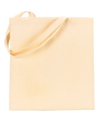 UltraClub 8865 Cotton Canvas Tote Bag - Natural