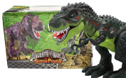 Techege Toys Furious T Rex Moving Dinosaur Battery Powered Jurassic Era Prehistoric Life Like TREX