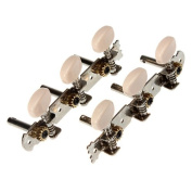 2 Classical Guitar Tuner Tuning Keys Pegs Machine Heads.