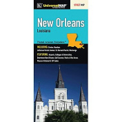 Universal Map 12618 New Orleans Fold Map