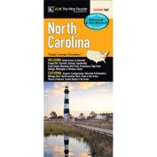 Universal Map 13539 North Carolina Laminated Map