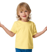 Hanes T120 Toddler Comfortsoft Tee Daffodil 4t