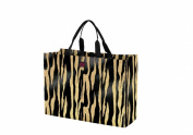 Joann Marie Designs P2LTMTIG Poly Large Tote - Metallic Tiger Pack of 6