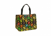 Joann Marie Designs P2RTBFDL Poly R. Tote - Black Fleur De Lis Pack of 6