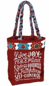 Carpentree 113240 Tote - Love Joy Peace