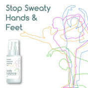 BODY BALANCE PREVENT EXCESSIVE SWEATING GEL SWEATY HANDS