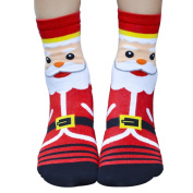 Vovotrade® 2015 Christmas. 3D Cartoon Christmas Socks Women Cotton Socks Floor