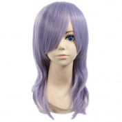 Etruke Long Pandora Hearts Curly Purple Dance Cosplay Wigs