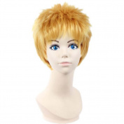Etruke Short Attack On Titan Reiner Naruto Hair Cosplay Wigs