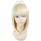 Etruke Anime Short Shiemi Moriyama Blonde Party Hair Cosplay Wigs